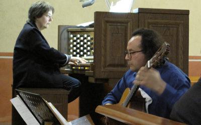 Concert d'orgue i guitarra