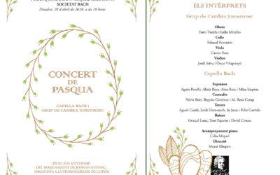 Concert de Pasqua 2018